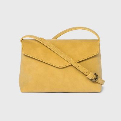 Envelope Snap Closure Crossbody Bag - Universal Thread™ Gold