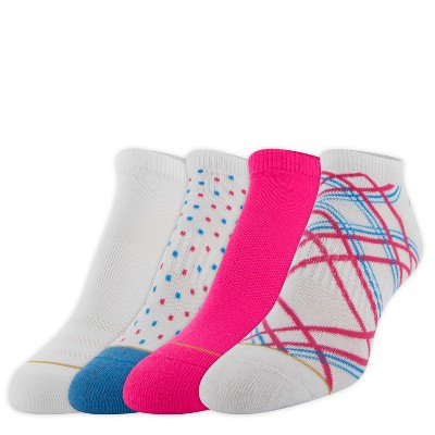 All Pro by Gold Toe Womens Plaid 3+1pk Cushion Athletic Socks