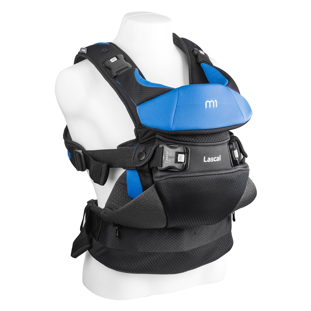 Image of Lascal M1 Baby Carrier - Blue