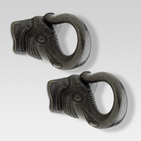 Elephant knob - 2 - pack - Threshold™ - image 1 of 1