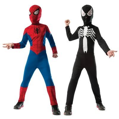 Kids' Marvel Spider-Man Reversible Halloween Costume - L