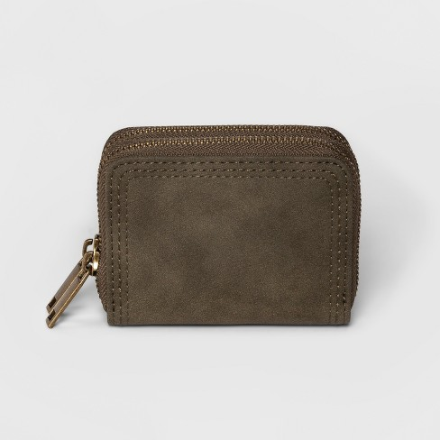 Small Double Zip Wallet - Universal Thread™ - image 1 of 2