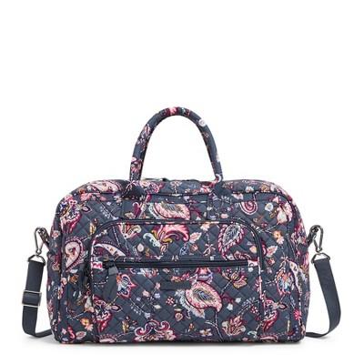 Vera Bradley Women's Cotton Compact Weekender Travel Bag