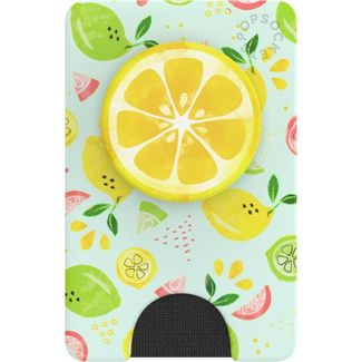 PopSockets PopWallet+ (with PopGrip Cell Phone Grip & Stand) - Fruit Salad