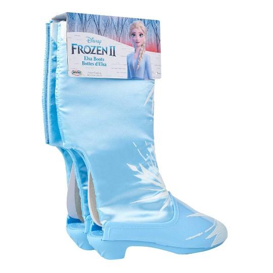 Disney Frozen 2 Elsa Boots, Adult Unisex, Size: One Size image number null