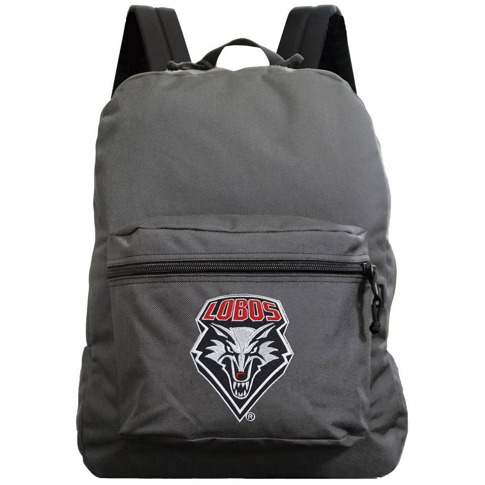 Ncaa New Mexico Lobos Gray Premium Backpack