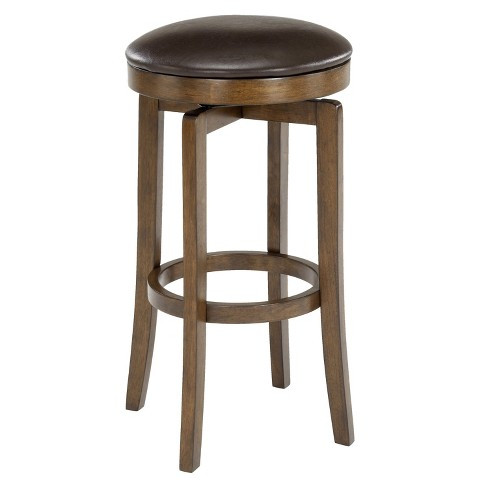 Pleasing Brendan Backless Counter Stools Hardwood Brown Cherry Hillsdale Furniture Gmtry Best Dining Table And Chair Ideas Images Gmtryco