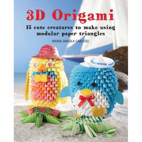 3D Origami - by  Maria Angela Carlessi (Paperback) - image 1 of 1