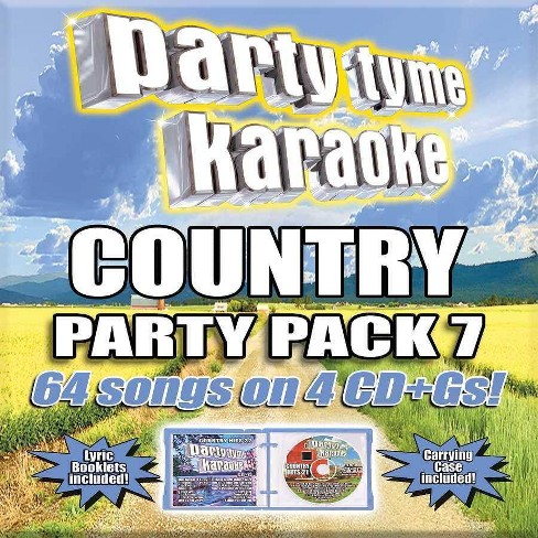 Various - Party Tyme Karaoke: Country Party Pack 7 (CD) - image 1 of 1