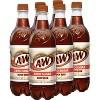 A&W Root Beer Zero Sugar - 6pk/0.5 L Bottles - image 3 of 4
