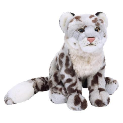 Snow Leopard Plush Toy