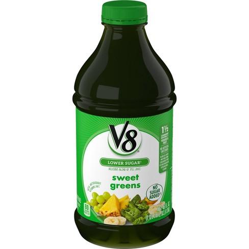 V8 Veggie Blends Sweet Greens Juice - 46 fl oz Bottle - image 1 of 4