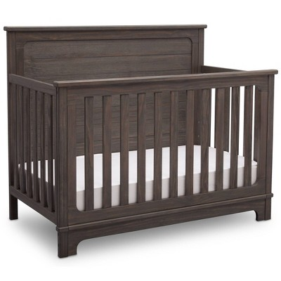 Simmons Kids Slumbertime Monterey 4-in-1 Convertible Crib - Rustic Gray