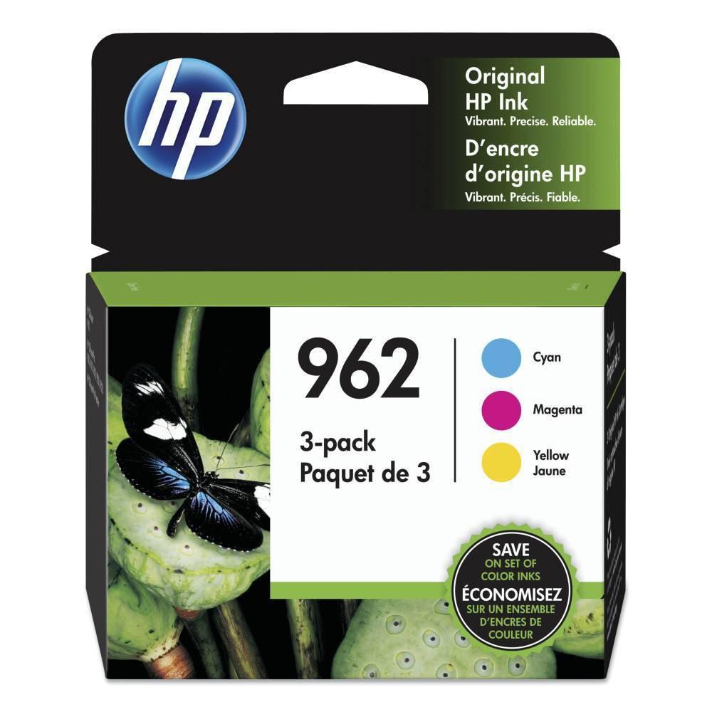 Hp 962 Original Ink Combo 3 Pack Cmy