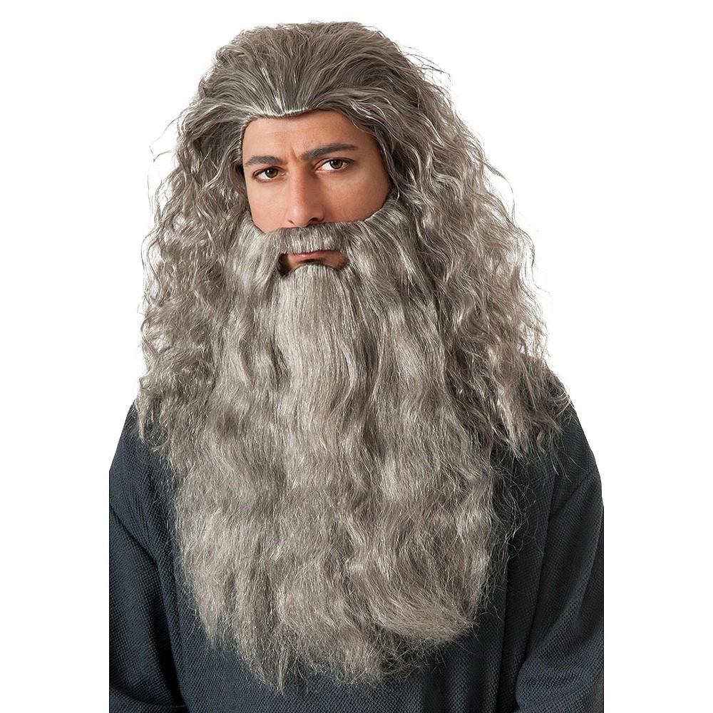 The Hobbit Men's Gandalf Beard Kit Gray