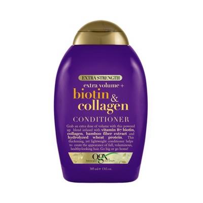 OGX Biotion & Collagen Extra Strength Conditioner - 13 fl oz