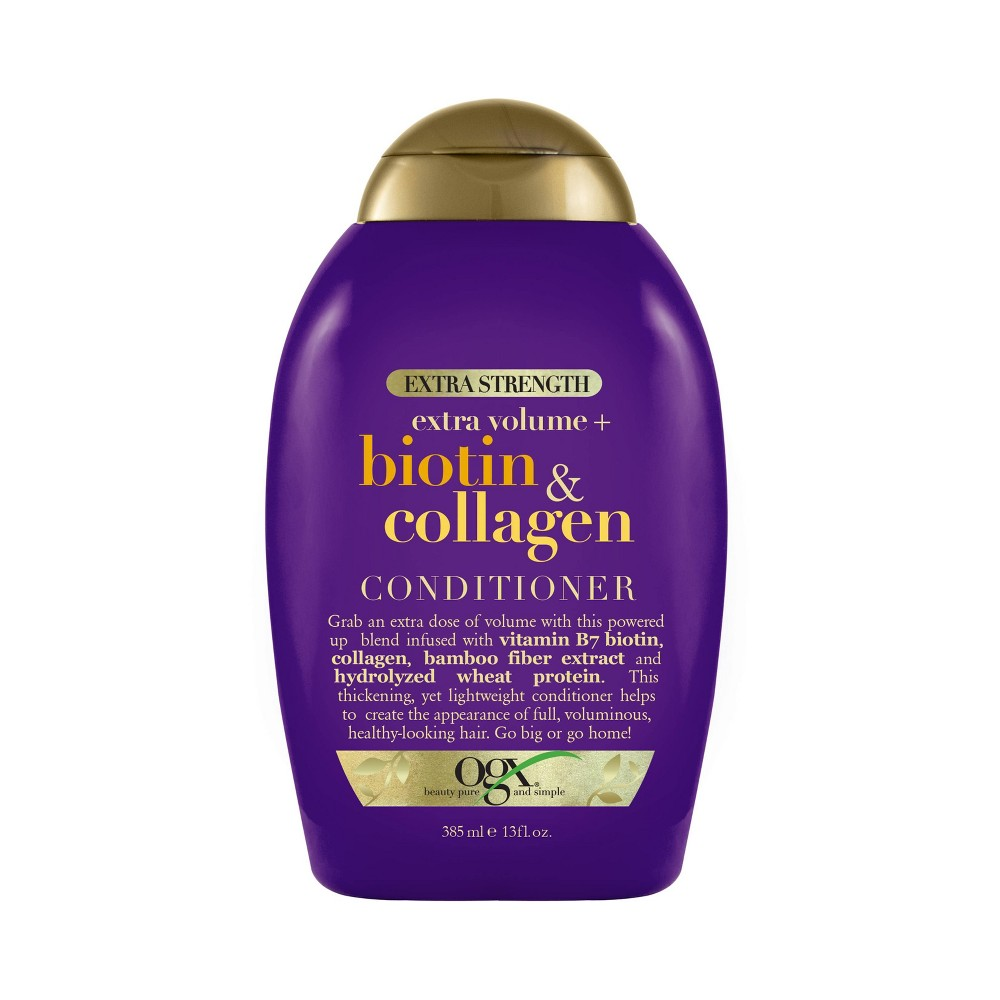 Image of OGX Biotion & Collagen Extra Strength Conditioner - 13 fl oz