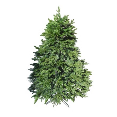 ALEKO CT6FT006 Pre-Lit Premium Lush Artificial Holiday Christmas Tree - 6 Foot - Green