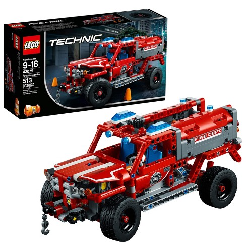 Lego Technic First Responder 42075 Target