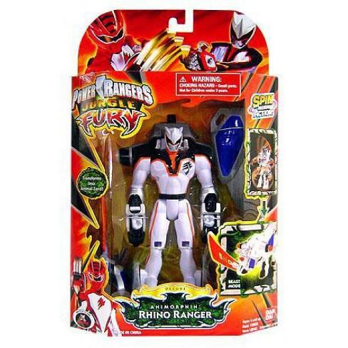 Power Rangers Jungle Fury Deluxe Animorphin Rhino Ranger Action Figure - image 1 of 1