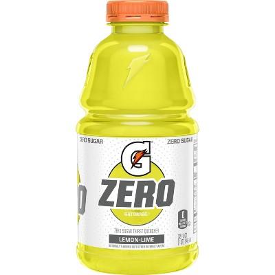 Gatorade G Zero Sugar Lemon Lime Sports Drink - 32 fl oz Bottle