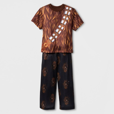 c2fb9b7a3b67 Boys  Star Wars 2pc Pajama Set - Brown   Target