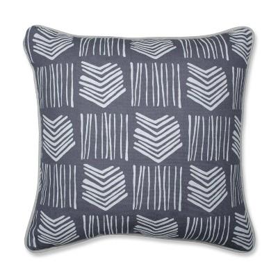 Graphite Throw Pillow - Pillow Perfect