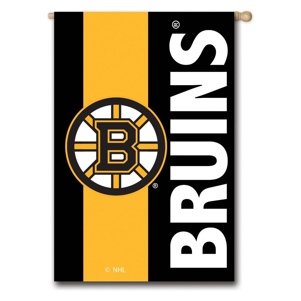 Boston Bruins Embellished House Flag