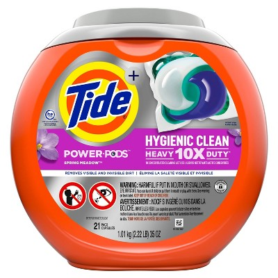 Tide Hygienic Clean Power PODS Liquid Laundry Detergent - Spring Meadow