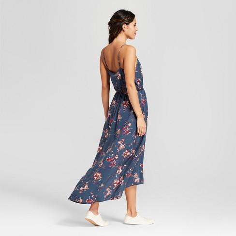 545d235ac469 Women s Strappy Floral Maxi Romper - Xhilaration™   Target