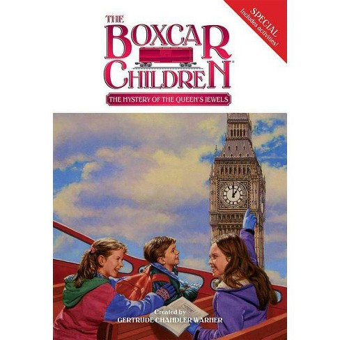 The Mystery of the Queen's Jewels - (Boxcar Children Mystery & Activities  Specials) (Paperback)