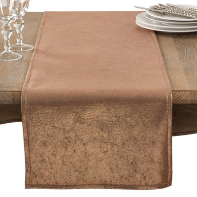 Copper Solid Table Runner - Saro Lifestyle
