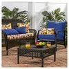 Esprit Floral Outdoor Swing and Bench Cushion - Kensington Garden - image 3 of 4