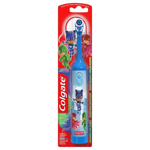 Colgate Kids Battery Powered Toothbrush PJ Masks Extra Soft - 1ct - image 1 of 7