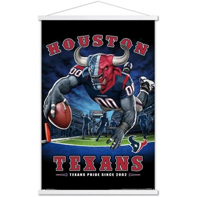 Trends International NFL Houston Texans - End Zone 17 Framed Wall Poster Prints