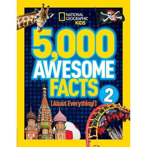 5,000 Awesome Facts (about Everything!) 2 - (National Geographic Kids) (Hardcover) - image 1 of 1