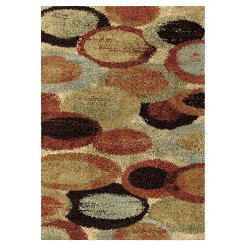 Bubbles Rug - Orian - image 1 of 4