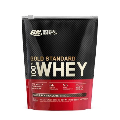 ON 100% Gold Standard Whey - Double Rich Chocolate - 24oz