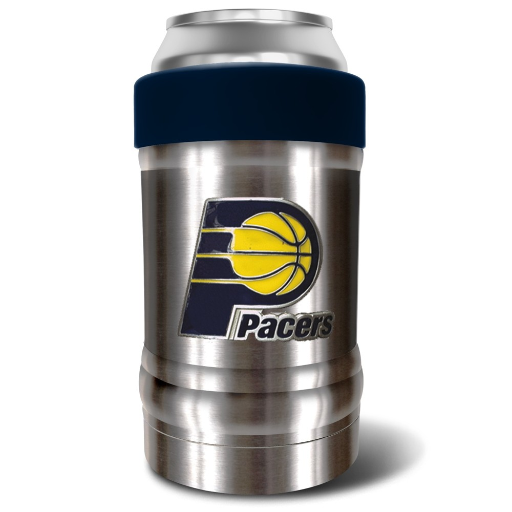 NBA Indiana Pacers 12oz Locker Double-Wall Can and Bottle Holder