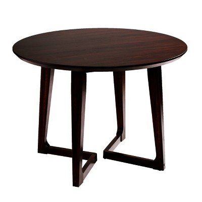 Meckland Small Space Dining Table Dark Walnut - Holly & Martin