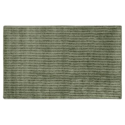 Garland Sheridan Plush Washable Nylon Bath Rug - Deep Fern (30 x50 )