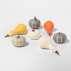 7pc Pumpkin/Gourd/Acorn Decorative Filler - Spritz™