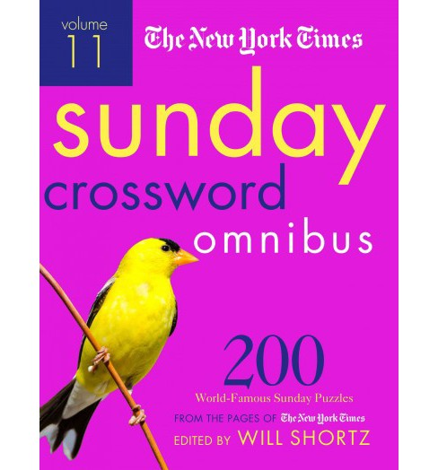 New York Times Sunday Crossword Omnibus : 200 World-Famous Sunday Puzzles from the Pages of the New York - image 1 of 1