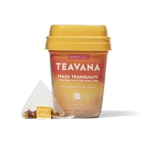 Teavana Peach Tranquility Tea Bags - 15ct/1.2oz - image 1 of 4