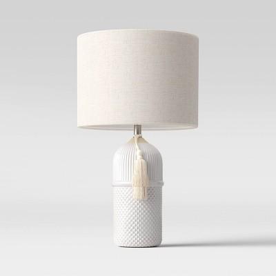 Large Assembled Ceramic Table Lamp (Includes LED Light Bulb)White - Opalhouse™