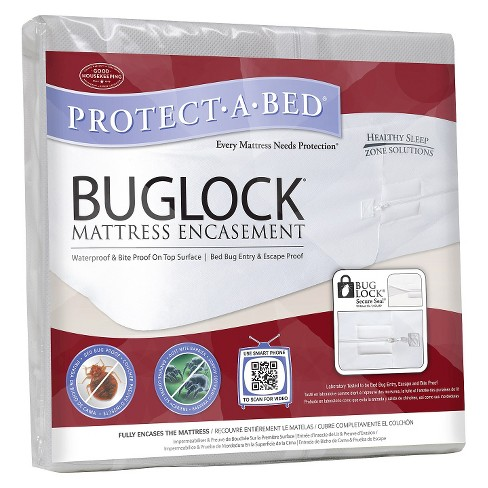 Bed Bug Mattress Cover.Protect A Bed Buglock Bed Bug Proof Mattress Encasement
