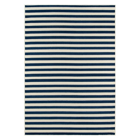 Indoor/Outdoor Stripes Rug - image 1 of 4