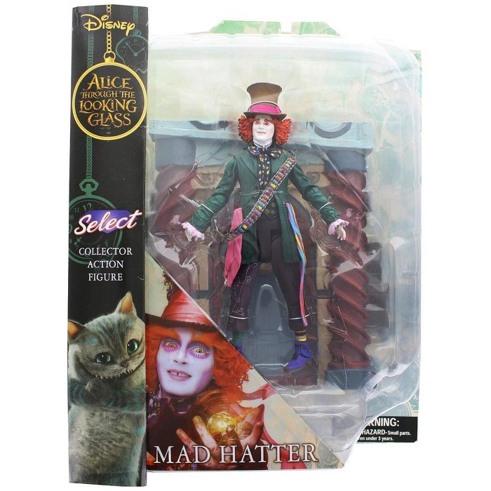 """Alice Through the Looking Glass Mad Hatter Select 7"""" Action Figure - image 1 of 2"""