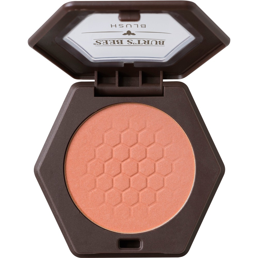 Image of Burt's Bees 100% Natural Blush with Vitamin E - Bare Peach - 0.19oz