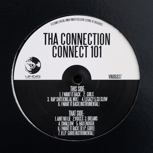 Tha connection - Connect 101 (I want it back) (Vinyl) - image 1 of 1